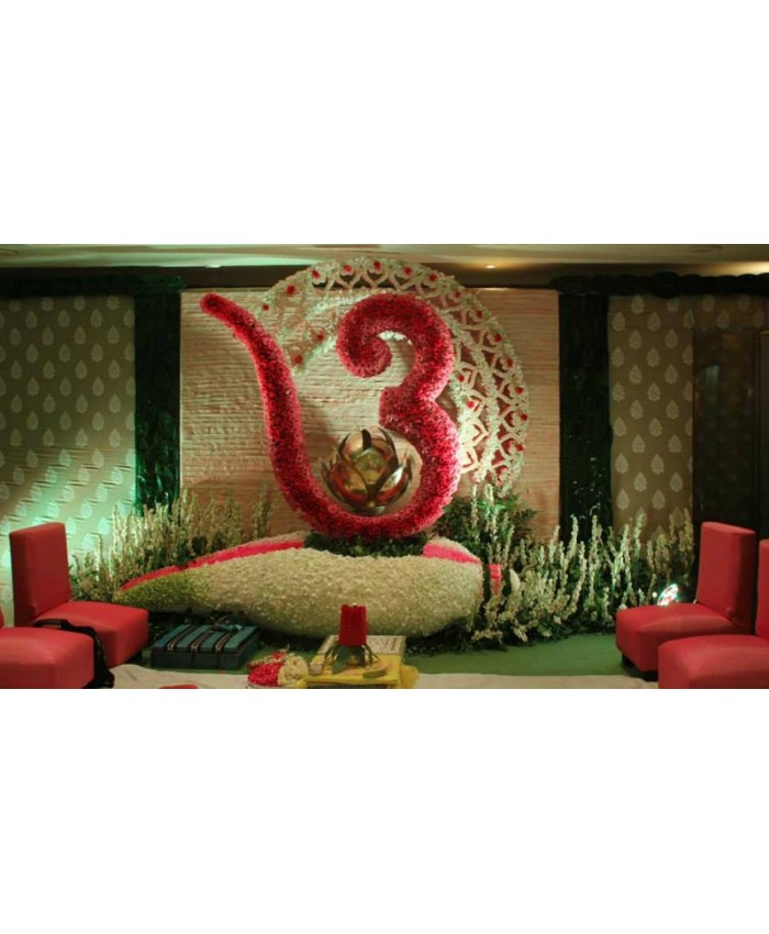 Wedding Stage Decoration Model 1