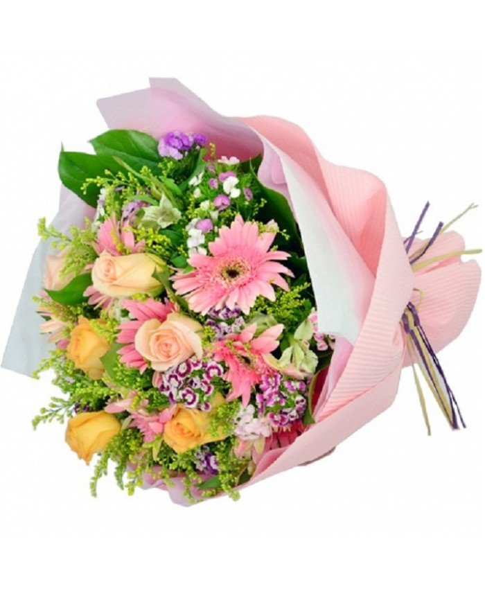 Send Flower Bouquets – Rose, Gerbera, Mixed Flower Bouquet