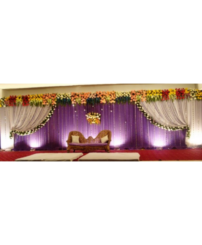 Wedding Stage Decoration Model 6