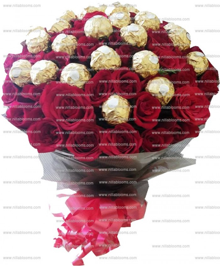 Yummy Fresh Chocolate Bouquet