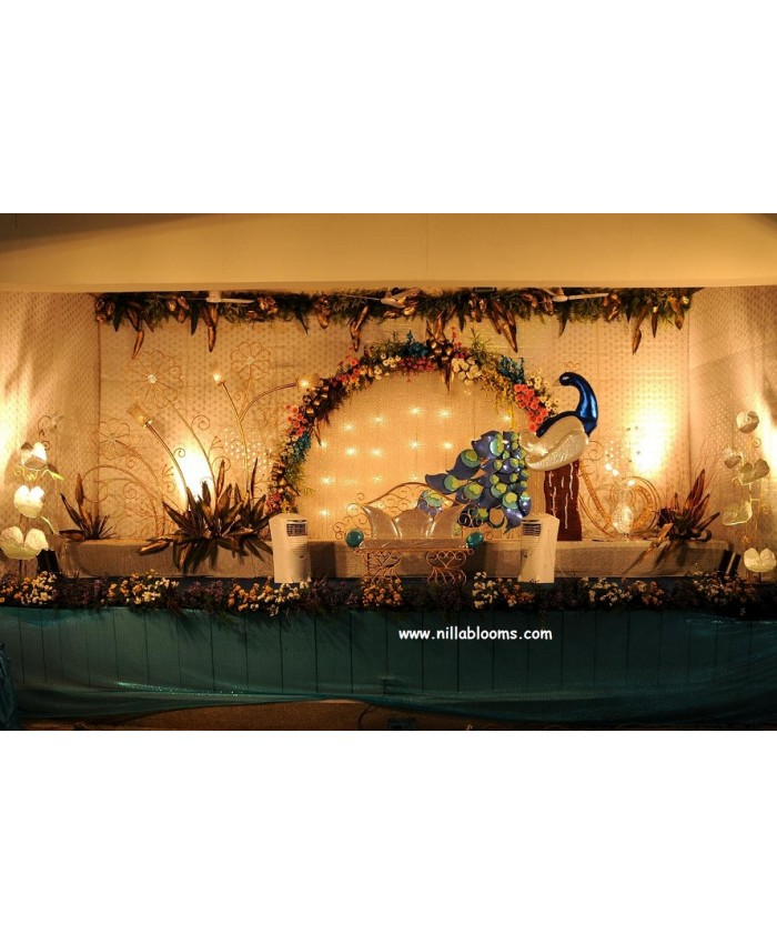 Wedding flower stage decoration photos gallery wedding decoration wedding stage flower decoration in coimbatore india wedding stage decoration model 5 therapyboxfo junglespirit Images