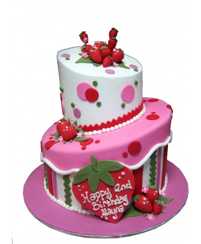 Strawberry Cake 3 kg