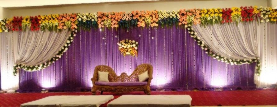 Wedding stage flower decoration in coimbatore india for Balloon decoration in coimbatore