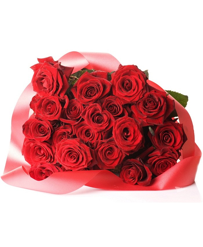 Bunch Of 20 Red Rose